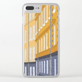 Gamla Stan, Stockholm Clear iPhone Case