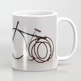 Bicycle, metallic sculpture by Annalisa Ramondino Coffee Mug