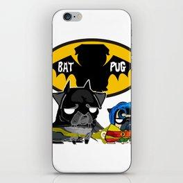 DL Bat Pug iPhone Skin