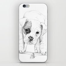 Patch, A Boxer Puppy :: Shelter Dog Project iPhone & iPod Skin