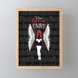 The Book Fairy Framed Mini Art Print