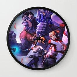 TPA Mundo Ezreal Orianna Shen Nunu Splash Art Wallpaper Official Artwork League of Legends lol Wall Clock
