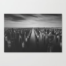 Port Melbourne Canvas Print