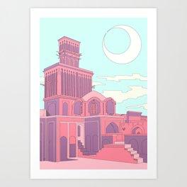 Windcatcher Art Print