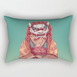 Imperial Guardian Lady Rectangular Pillow