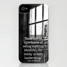 God's Handwriting Slim Case iPhone (4, 4s)