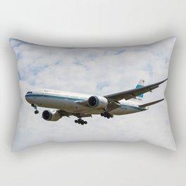 Kuwaiti Airlines Boeing 777 Rectangular Pillow