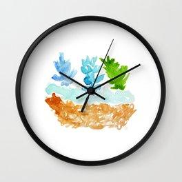 teco verde Wall Clock