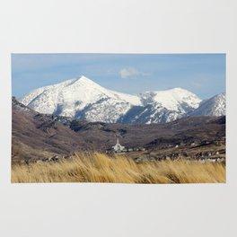 Draper LDS Utah Temple Rug