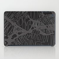 stockholm iPad Cases featuring Stockholm by Malin Erixon