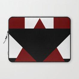 Modern Geometric Abstract Laptop Sleeve