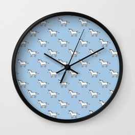 Cute Unicorn pattern Wall Clock
