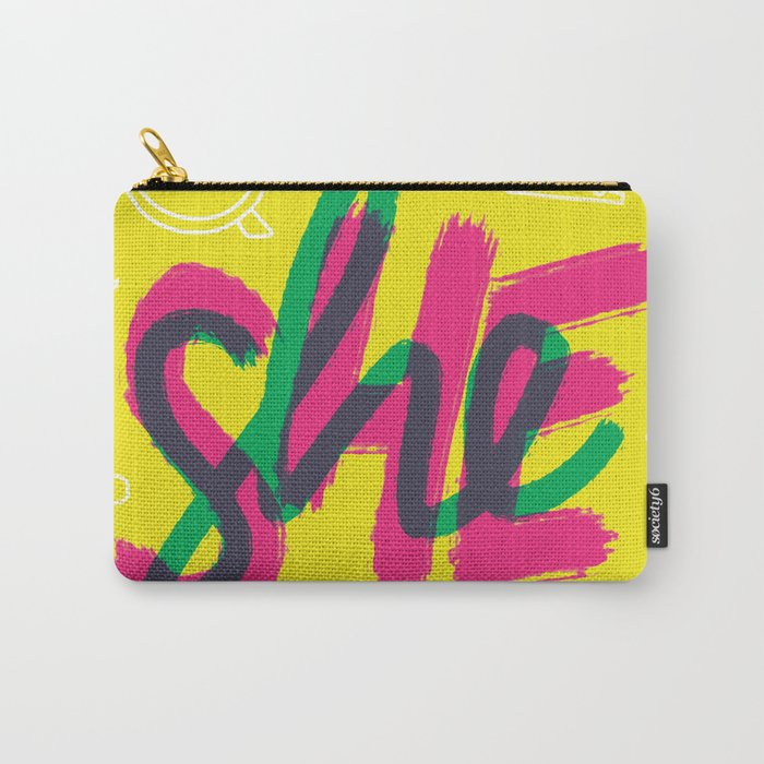 SHE [I] Carry-All Pouch