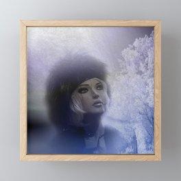 mannequin art - vintage Framed Mini Art Print