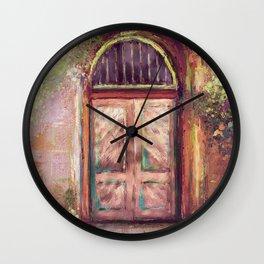 A Beautiful Mystery Wall Clock