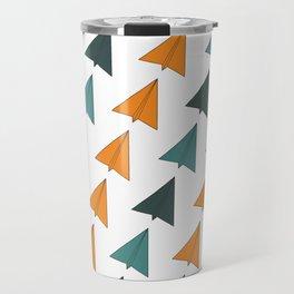 Origami Planes Travel Mug
