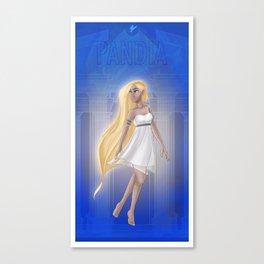 Greek Goddesses - Pandia Canvas Print