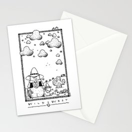 Wild West... Stationery Cards