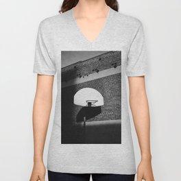 Los Angeles Basketball Unisex V-Neck