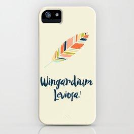 Wingardium leviosa! iPhone Case