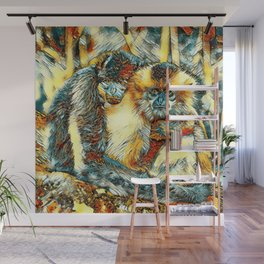 AnimalArt_Gibbon_20170901_by_JAMColorsSpecial Wall Mural