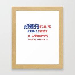 America's Greatest Lather Framed Art Print