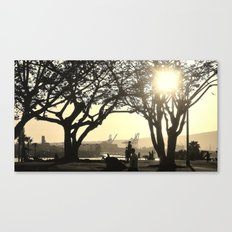 In the LBC at 3 Canvas Print