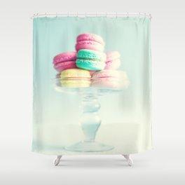 Macarons, macaroons, pop art Shower Curtain