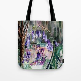 Blue Bell Forest Tote Bag