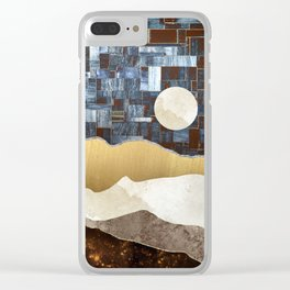 Copper Ground Clear iPhone Case