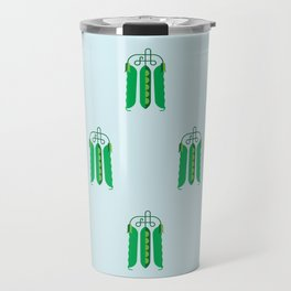Vegetable: Snap pea Travel Mug