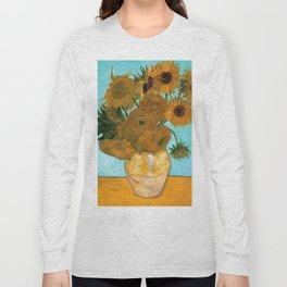 Van Gogh Sunflowers Long Sleeve T-shirt