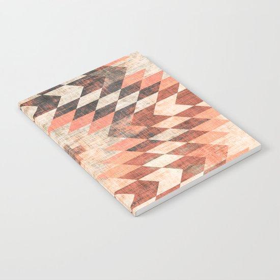 native coral diamond Notebook