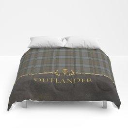 OUTLANDER TARTAN LEATHER Comforters
