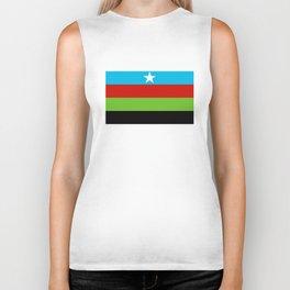 Somali Bantu Liberation Movement Flag Biker Tank