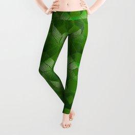 Evergreen, Snowflakes #32 Leggings