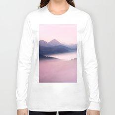 Foggy Mountains II Long Sleeve T-shirt