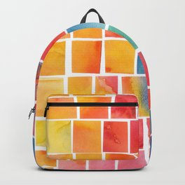 Colorful squares Backpack