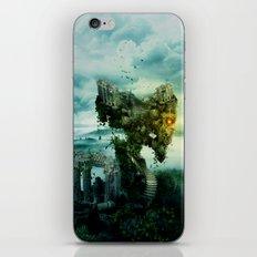 SKULL CASTLE III iPhone Skin