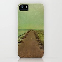 The end of the road iPhone Case