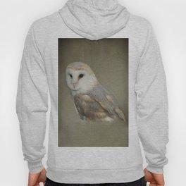 Barn Owl Portait Hoody