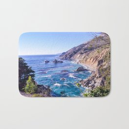 California Dreamin - Big Sur Bath Mat
