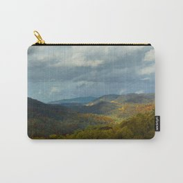 Great Smoky Mountains Late Autumn Vista Carry-All Pouch
