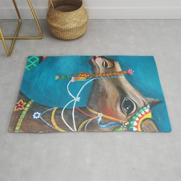 Camel in the Orient Rug