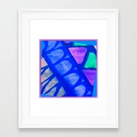 batik Framed Art Prints featuring Batik by Susan Laine Studios