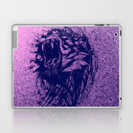 Tiger Purple Laptop & iPad Skin