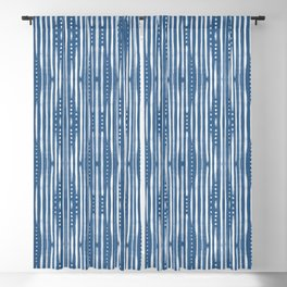 Shibori Tribal #society6 #shibori Blackout Curtain