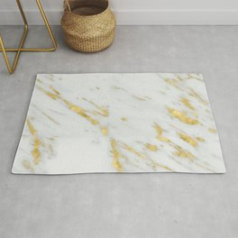Treviso gold marble Rug