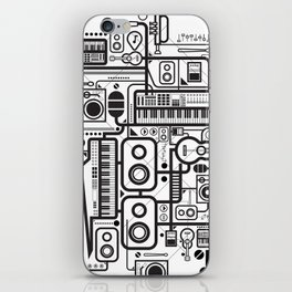 Audio Connected iPhone Skin
