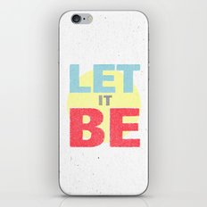 Let It Be iPhone & iPod Skin